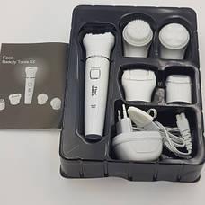 Эпилятор женский Find Back QL-608 5 в 1 с насадкой массажер, бритва, пемза, электробритва, фото 3