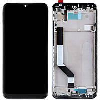 Оригинальный дисплей Xiaomi Redmi Note 7 с сенсорным экраном, с рамкой, Black