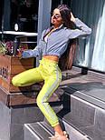 Спортивний костюм жіночий світловідбиваючий з рефлективної плащової тканини (в кольорах), фото 6