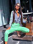 Спортивний костюм жіночий світловідбиваючий з рефлективної плащової тканини (в кольорах), фото 8