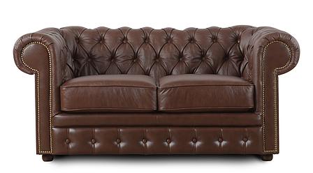 Кожаный двухместный диван Честер Чикаго, фото 2