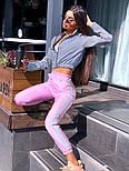 Спортивний костюм жіночий світловідбиваючий з рефлективної плащової тканини (в кольорах), фото 10