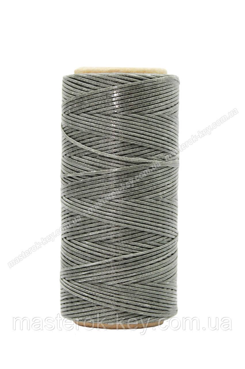 Шнур плоский прошивочный вощеный 0,8мм*100м К231 цвет милитари