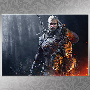 Плакат Witcher 09