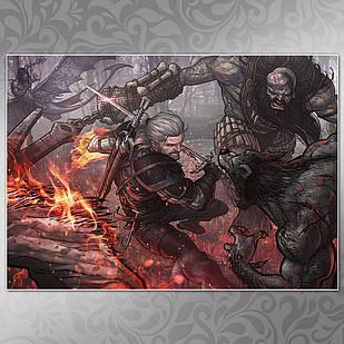 Плакат Witcher 12