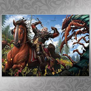 Плакат Witcher 14