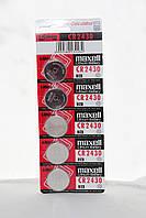 Часовая батарейка Maxell CR2430