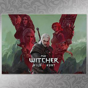 Плакат Witcher 20