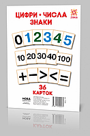 Картки великі Цифри А5 (200х150 мм) арт. 71 358 ISBN 9786110000079, фото 1