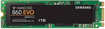 SSD накопитель Samsung 860 EVO 1TB M.2 SATA MLC (MZ-N6E1T0BW) (6381545)