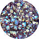 Хрустальные биконусы Preciosa (Чехия) 4 мм Amethyst Opal ABx2, фото 2