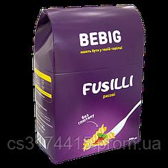 Макароны без глютена спирали рисовые  BEBIG FUSILLI  (350 грамм)