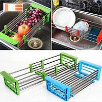 Многофункциональная складная кухонная полка Kitchen Drain Shelf Rack, фото 1