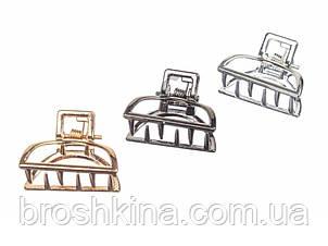 Крабики мини 2.5 см металл 3 цвета 12 шт/уп