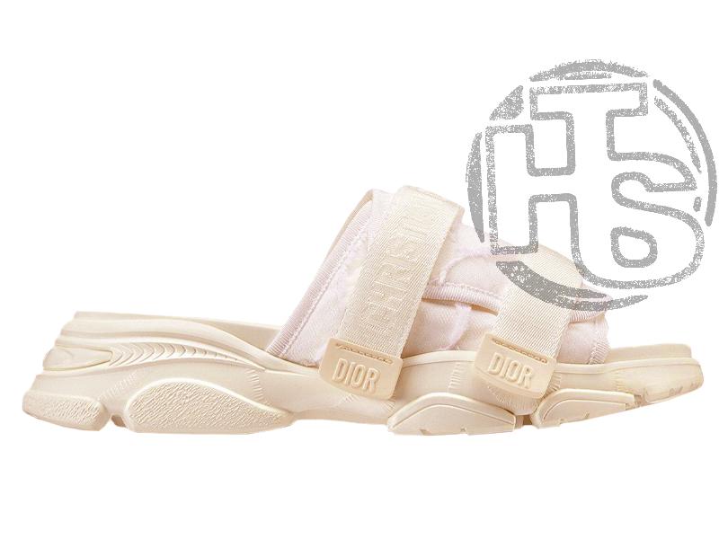 Женские сандалии Dior D-Wander Slide White KCQ351CNF_S10W