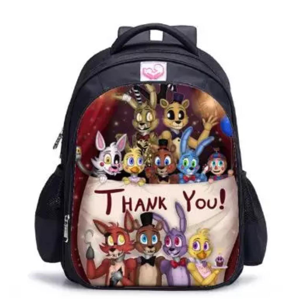 Рюкзак шкільний міської FNAF 5 ночей з Фредді. Знижка: нечіткий малюнок.