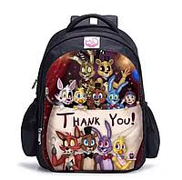Рюкзак шкільний міської FNAF 5 ночей з Фредді. Знижка: нечіткий малюнок., фото 1