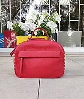 Маленькая женская сумочка Италия натуральная кожа, фото 1