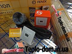 Електрический нагревательный мат In-Term (Чехия) с цифровым регулятором Terneo ST ( Премиум)