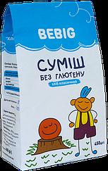Смесь для выпечки без глютена Bebig Хлеб Классический (450 грамм)