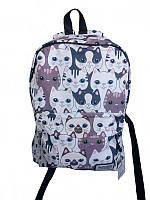 Рюкзак женский с кошечками