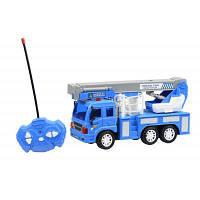 Радиоуправляемая игрушка Same Toy CITY Кран синий (F1630Ut)
