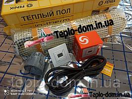 Електрический мат In-Therm для обогрева пола 170w (0,8 м.кв.) с цифровым регулятором Terneo ST