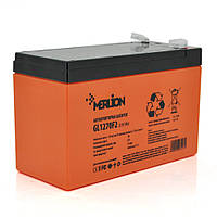 Акумуляторна батарея MERLION GL1270F2 12 V 7Ah (150 x 65 x 95 (100)  Orange Q10