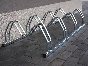 Велопарковка на 5 велосипедов Smile-5 Польша