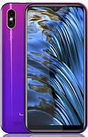 Смартфон разноцветный с большим дисплеем и двойной камерой на 2 сим карты Leagoo M12 twilight 2/16 гб