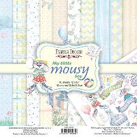 Набір двостороннього паперу - My little mousy boy - Fabrika Decoru - 30x30