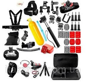 Крепления для экшн-камер Набор 21 предмет