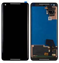 Модуль (сенсор + дисплей) для Google Pixel 2 XL черный, фото 2