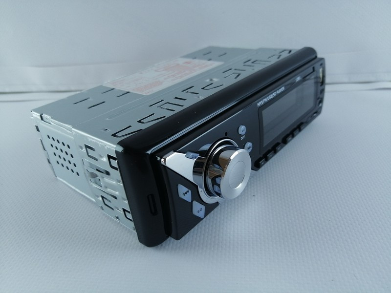Автомагнитола  Pioner 1281 ISO  ( MP3-FM-USB-microSD-карта)