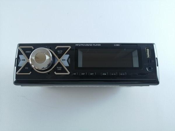 Автомагнітола Pioner 1280 ISO для Вашої машини (MP3/FM/USB/SD/AUX)