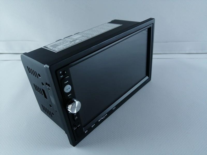 """Автомагнітола з екраном Pioneer 7023 7"""" AV-in+Пульт на кермо"""