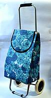 Господарська сумка на ВЕЛИКИХ колесах зі складним МЕТАЛЕВИМ каркасом, фото 1
