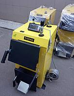 Инновационный отопительный котел на твердом топливе KRONAS EKO PLUS 20 кВт с автоматикой / Кронас Эко Плюс