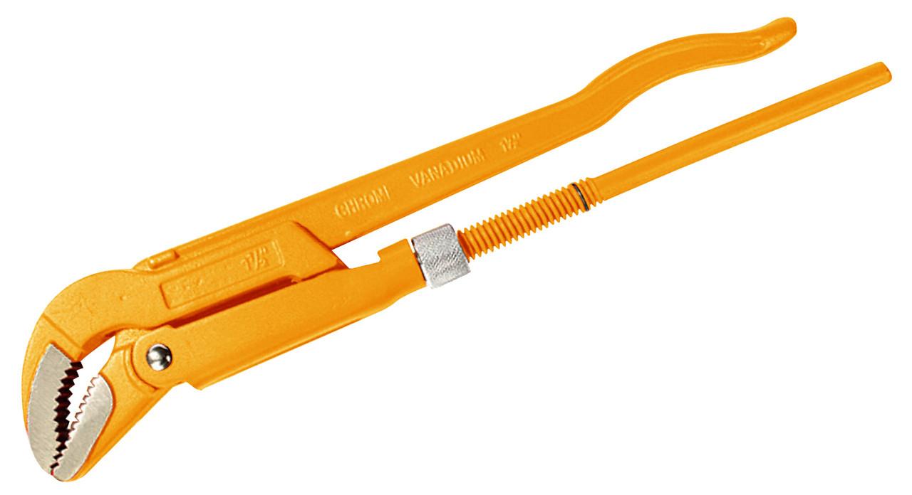 """Ключ трубний45 °, 1.5 """"(мах 48 мм) Толсен"""