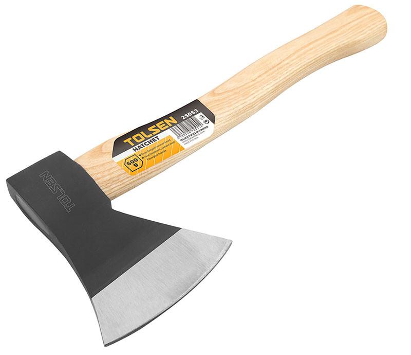 Топор 1 кг деревянная ручка Толсен