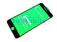 Стекло защитное iPhone 6 Plus, iPhone 6S Plus 2,5D Full Screen Full Glue Ceramica черное