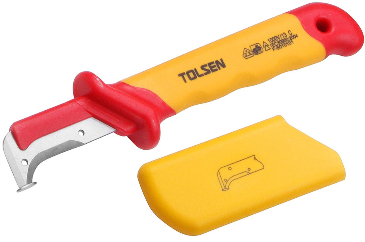 Нож диэлектрический 50х185 мм демонтажный Толсен