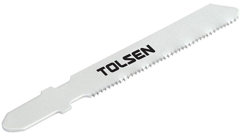 Набор пилок для лобзика Т118A, 5 шт. Толсен