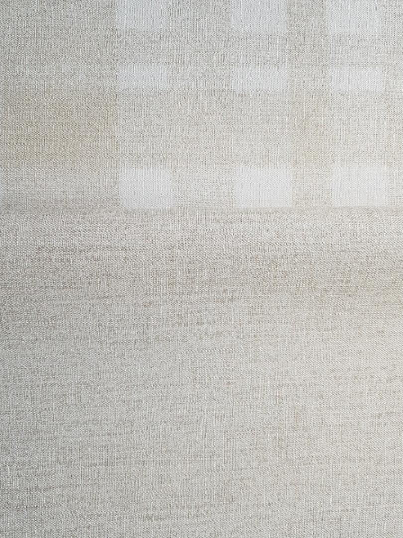 Шпалери вінілові на флізелін гарячого тиснення Marburg Natural vibes метрові під тканина льон світло коричневі