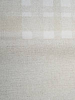 Шпалери вінілові на флізелін гарячого тиснення Marburg Natural vibes метрові під тканина льон світло коричневі, фото 1