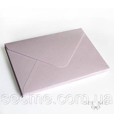 Конверт 205x140 мм, цвет светло-лавандовый (soft lavender)