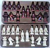 Фигуры шахматные большие (воины императора)
