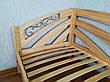 """Угловая полуторная кровать из массива натурального дерева """"Радуга"""" от производителя, фото 5"""