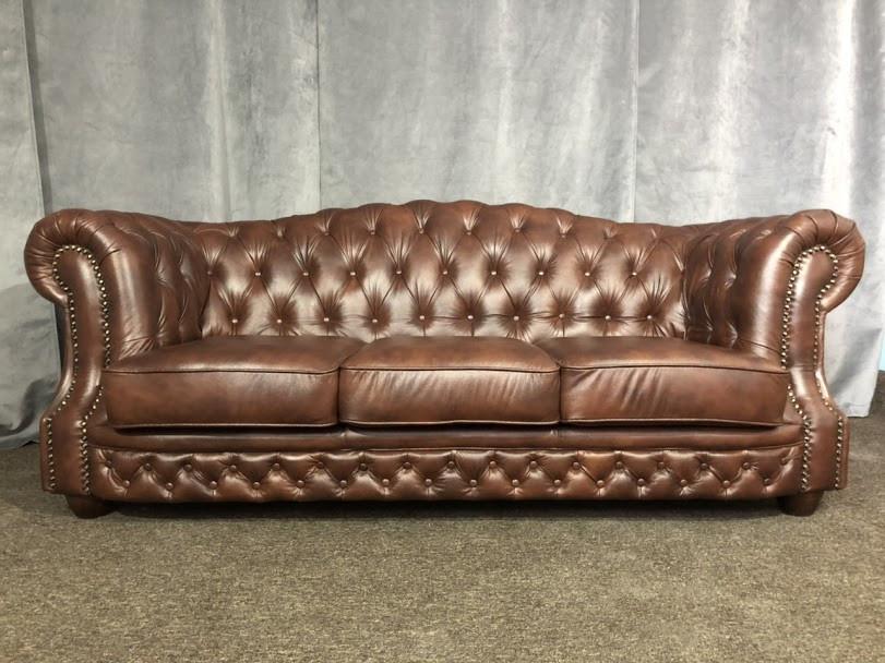 """Кожаный  диван """"Sheffield"""", Шеффилд от производителя"""