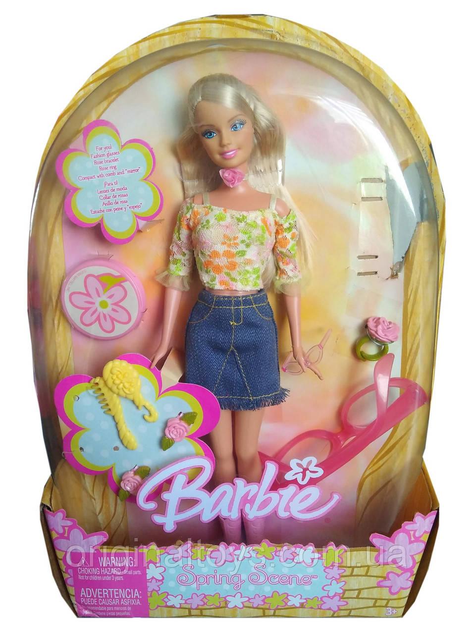 Колекційна лялька Барбі Весняна Barbie Spring Scene 2005 Mattel H8252